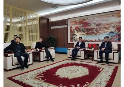 北京市人民政府合作办异性玩、南阳市领导莅临汇博医疗考察